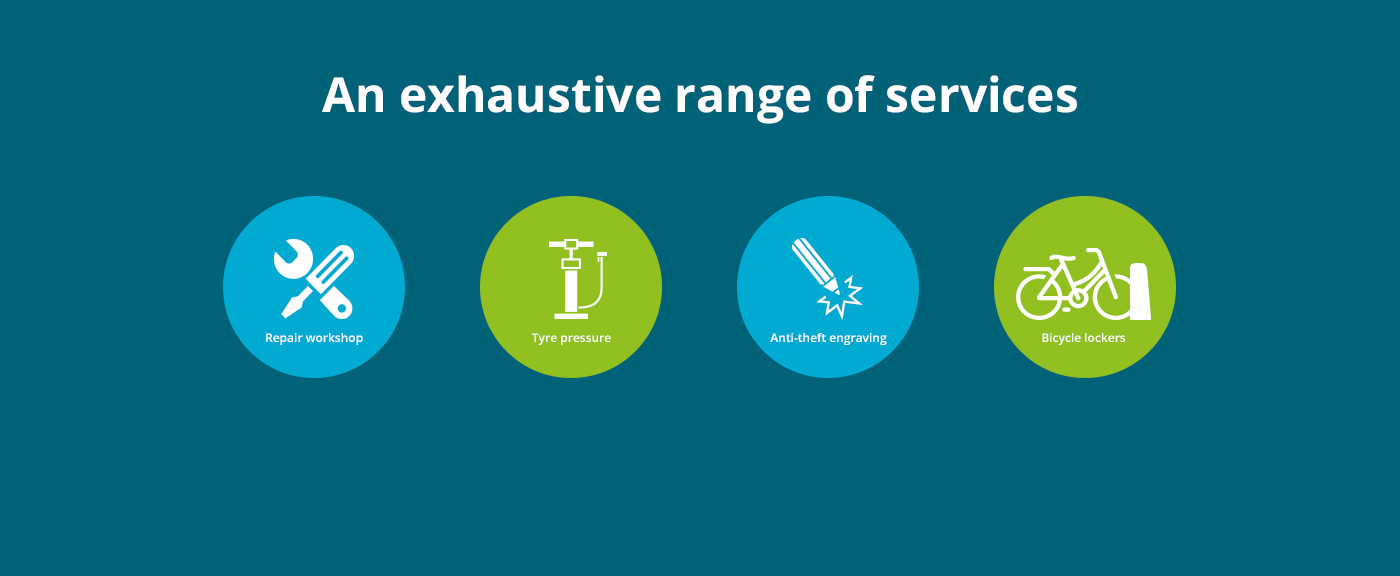 An exhaustive range of services