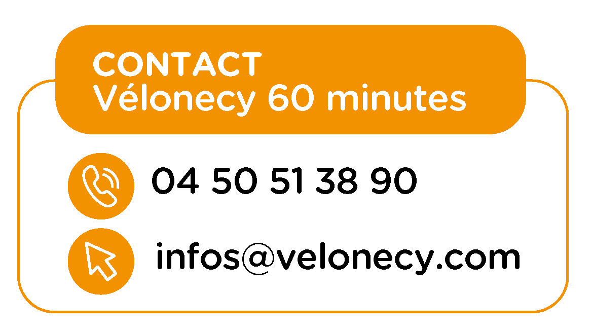 Contact Vélonecy 60 minutes