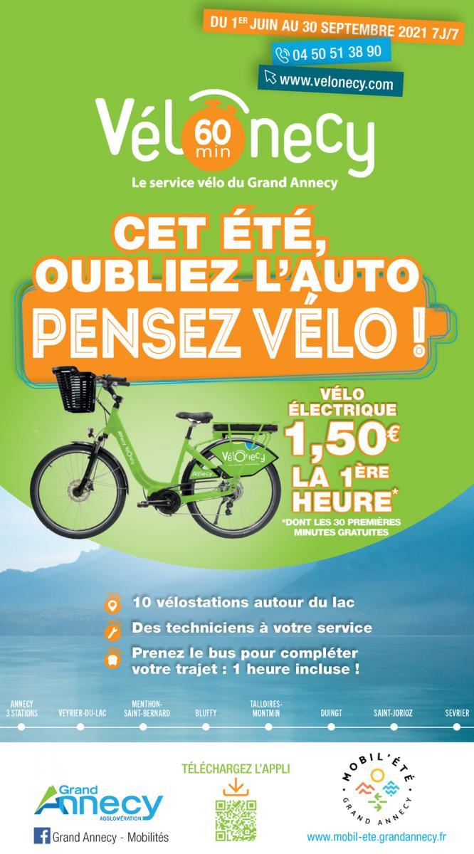 Couverture dépliant Vélonecy 60 minutes