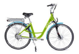 Bicycle with electric assistance